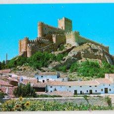 Postales: POSTAL DEL CASTILLO DE ALMANSA (ALBACETE).. Lote 44279786