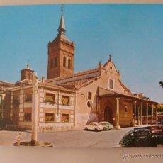 Postales: POSTAL DE GUADALAJARA. AÑO 1971. CONCATEDRAL DE SANTA MARÍA. SEAT 600. 146. Lote 44293605