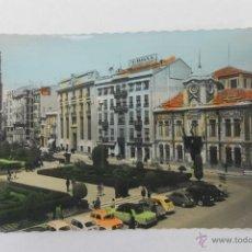 Postales: POSTAL DE ALBACETE, PLAZA DEL CAUDILLO, COLOREADA AÑOS 50-60. Lote 44366228