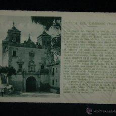 Postales: POSTAL SIN CIRCULAR PUERTA DEL CAMBRON TOLEDO PATRONATO NACIONAL TURISMO ED CAYON TEXTO REPIDE. Lote 44685442