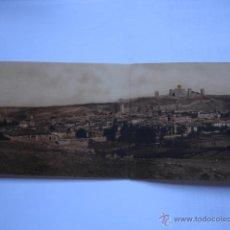 Postales: VISTA GENERAL. MOLINA DE ARAGON.GUADALAJARA. FOTO LEOPOLDO POSTAL DOBLE. Lote 44743037