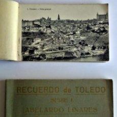 Postales: LIBRITO DE 20 POSTALES RECUERDO DE TOLEDO. SERIE I, DE ABELARDO LINARES. Lote 45136264