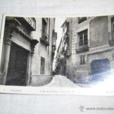 Postales: 7.-TOLEDO .CALLE DE LA PLATA .-L.ROISIN. Lote 45281333