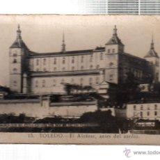 Cartoline: TARJETA POSTAL DE TOLEDO. L. ROISIN. EL ALCAZAR ANTES DEL ASEDIO. Nº 13. MEDIDAS 9X5.5CM. Lote 45529050