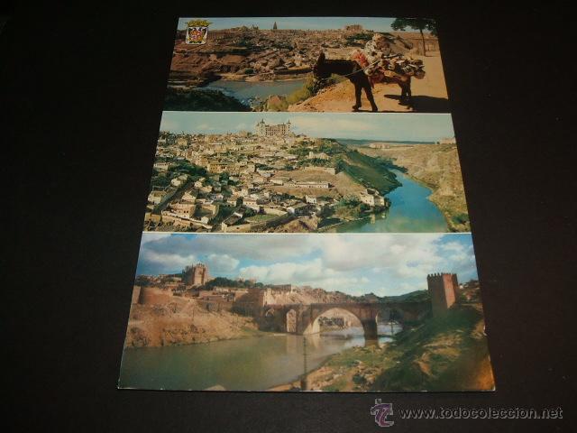 TOLEDO VARIAS VISTAS 1964 (Postales - España - Castilla la Mancha Moderna (desde 1940))