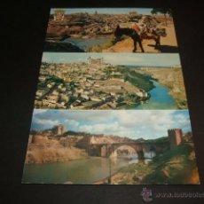Postales: TOLEDO VARIAS VISTAS 1964. Lote 45666241