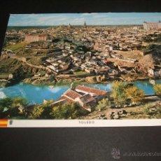 Postales: TOLEDO VISTA GENERAL 1966. Lote 45666247