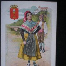 Postales: CASTILLA M CUENCA MUJERES ESPAÑOLAS POSTAL ANTIGUA. Lote 46117867