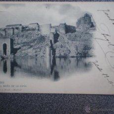 Postales: CASTILLA M TOLEDO EL BAÑO DE LA CAVA POSTAL ANTIGUA. Lote 46119418