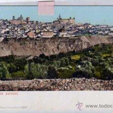 Postales: TOLEDO VISTA PARCIAL. PURGER 2201 REVERSO SIN DIVIDIR. SIN CIRCULAR.. Lote 46210232