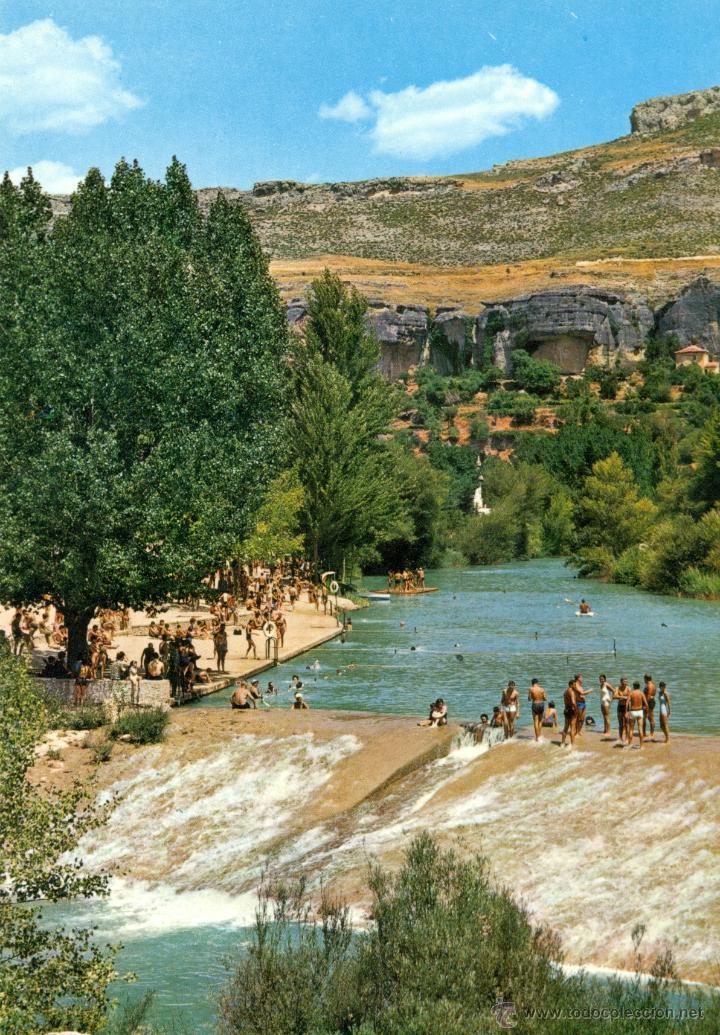 Cuenca rio jucar y playa comprar postales de castilla la for Piscinas naturales de cuenca