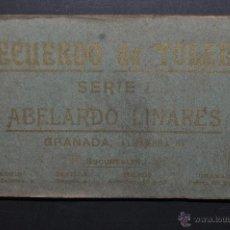 Postales: CARNET POSTAL RECUERDO DE TOLEDO. SERIE 1. ED. ABELARDO LINARES. 20 TARJETAS. Lote 46306677