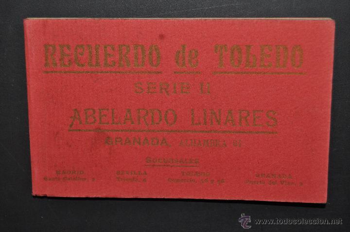 CARNET POSTAL RECUERDO DE TOLEDO. SERIE II. ED. ABELARDO LINARES. 20 TARJETAS (Postales - España - Castilla La Mancha Antigua (hasta 1939))