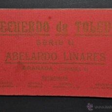 Postales: CARNET POSTAL RECUERDO DE TOLEDO. SERIE II. ED. ABELARDO LINARES. 20 TARJETAS. Lote 46306812