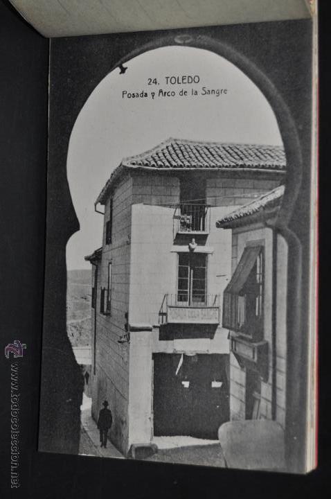 Postales: CARNET POSTAL RECUERDO DE TOLEDO. SERIE II. ED. ABELARDO LINARES. 20 TARJETAS - Foto 5 - 46306812