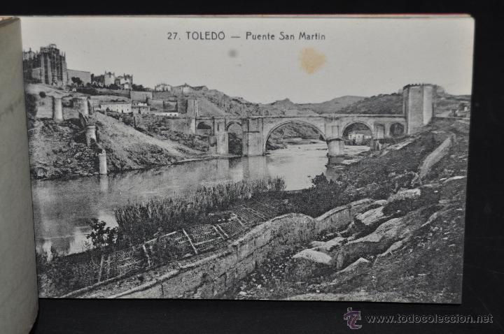 Postales: CARNET POSTAL RECUERDO DE TOLEDO. SERIE II. ED. ABELARDO LINARES. 20 TARJETAS - Foto 7 - 46306812