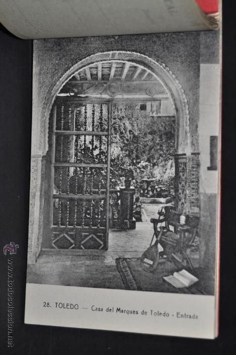 Postales: CARNET POSTAL RECUERDO DE TOLEDO. SERIE II. ED. ABELARDO LINARES. 20 TARJETAS - Foto 8 - 46306812