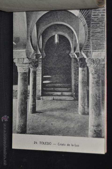 Postales: CARNET POSTAL RECUERDO DE TOLEDO. SERIE II. ED. ABELARDO LINARES. 20 TARJETAS - Foto 9 - 46306812