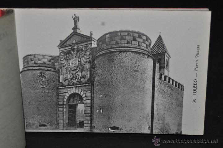 Postales: CARNET POSTAL RECUERDO DE TOLEDO. SERIE II. ED. ABELARDO LINARES. 20 TARJETAS - Foto 10 - 46306812