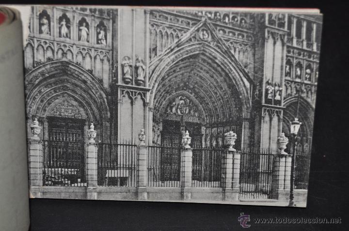 Postales: CARNET POSTAL RECUERDO DE TOLEDO. SERIE II. ED. ABELARDO LINARES. 20 TARJETAS - Foto 11 - 46306812