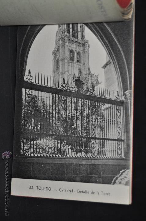 Postales: CARNET POSTAL RECUERDO DE TOLEDO. SERIE II. ED. ABELARDO LINARES. 20 TARJETAS - Foto 12 - 46306812