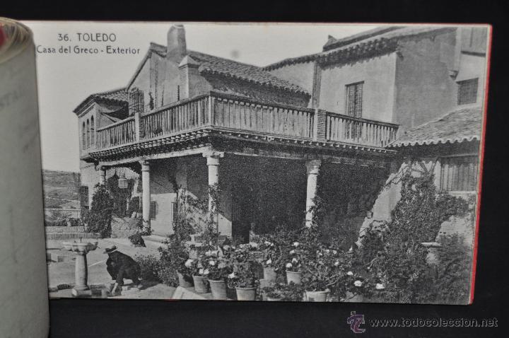 Postales: CARNET POSTAL RECUERDO DE TOLEDO. SERIE II. ED. ABELARDO LINARES. 20 TARJETAS - Foto 15 - 46306812