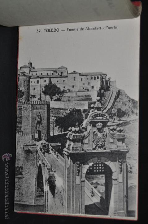 Postales: CARNET POSTAL RECUERDO DE TOLEDO. SERIE II. ED. ABELARDO LINARES. 20 TARJETAS - Foto 16 - 46306812