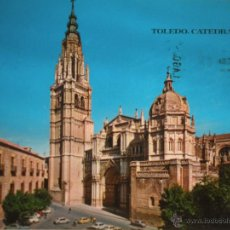 Postales: MAGNIFICA POSTAL DE - TOLEDO - CATEDRAL -. Lote 46553192