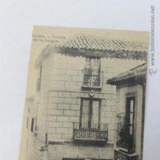 Postales: TARJETA POSTAL TOLEDO POSADA DE LA SANGRE. Lote 46659032