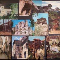 Postales: LOTE DE 11 POSTALES DE CUENCA , SIN CIRCULAR DE LOS AÑOS 1966 Y 1967.. Lote 46789554