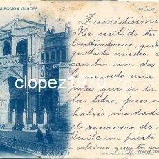 Postales: TOLEDO. CATEDRAL, FACHADA PRINCIPAL. COLECCION GARCES. FOT. LAURENT. SERIE D Nº 7. SIN DIVIDIR. Lote 47101234