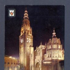 Postales: TOLEDO. CATEDRAL TOLEDO DE NOCHE. Lote 47129661