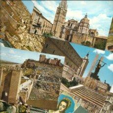 Postales: LOTE 9 POSTALES DE TOLEDO. VER LISTADO Y FOTOGRAFÍAS.. Lote 47267751