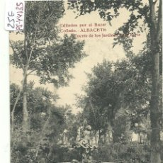 Postales: (PS-44135)POSTAL DE ALBACETE-FUENTE DE LOS JARDINES DE LA FERIA. Lote 47589061