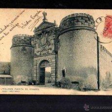 Postales: TOLEDO. PUERTA DE VISAGRA. . Lote 47592579