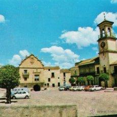 Postales: CHINCHILLA - PLAZA DE LA MANCHA - Nº 38146 - ED. AZUL - NUEVA - AÑO 1980 - X. Lote 47725266