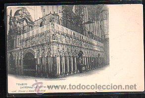 TARJETA POSTAL DE TOLEDO - CATEDRAL: EXTERIOR DEL CORO. 1368. HAUSER Y MENET (Postales - España - Castilla La Mancha Antigua (hasta 1939))