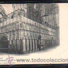 Postales: TARJETA POSTAL DE TOLEDO - CATEDRAL: EXTERIOR DEL CORO. 1368. HAUSER Y MENET. Lote 47932572