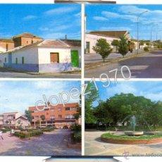 Postales: SOCUELLAMOS, CIUDAD REAL, VISTAS PARCIALES, EDIT.LUISA JIMENEZ E HIJOS. Lote 48296883