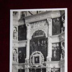 Postales: ANTIGUA FOTO POSTAL DE TOLEDO. CATEDRAL, RETABLO DE LA CAPILLA REAL. FOTO G.H. ALSINA. SIN CIRCULAR. Lote 48310865