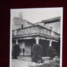 Postales: ANTIGUA FOTO POSTAL DE TOLEDO. CASA DEL GRECO, VISTA PARCIAL. FOTO G.H. ALSINA. SIN CIRCULAR. Lote 48311180