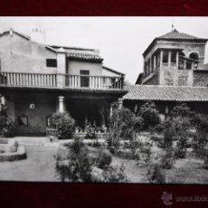 Postales: ANTIGUA FOTO POSTAL DE TOLEDO. CASA DEL GRECO. SIN CIRCULAR. Lote 48329696