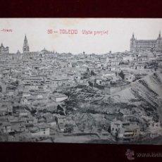 Postales: ANTIGUA POSTAL DE TOLEDO. VISTA PARCIAL. FOT. LINARES. ESCRITA. Lote 48329739