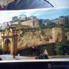 Cartes Postales: PUENTE ALCANTARA Nº 1 TOLEDO HELIOTIPIA ARTISTICA CIRCULADA *B33 . Lote 48352768