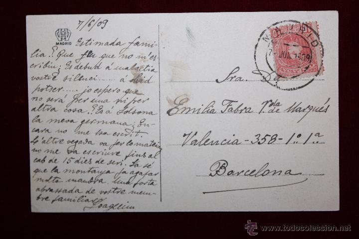Postales: ANTIGUA POSTAL DE TOLEDO. LA CATEDRAL. FOTPIA. HAUSER Y MENET. CIRCULADA - Foto 2 - 48374175