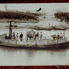 Postales: FOTO POSTAL DE DAIMIEL, CIUDAD REAL, CIRCULADA EN 1910.. Lote 48836104
