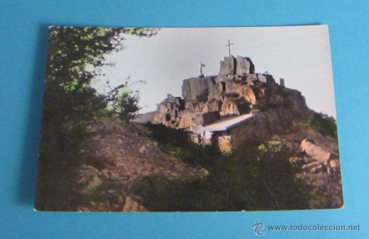 POSTAL MONUMENTO AL SAGRADO CORAZÓN DE JESÚS EN LA TORRETA. CAÑETE ( CUENCA ) (Postales - España - Castilla la Mancha Moderna (desde 1940))