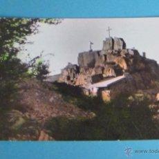Postales: POSTAL MONUMENTO AL SAGRADO CORAZÓN DE JESÚS EN LA TORRETA. CAÑETE ( CUENCA ). Lote 48904414