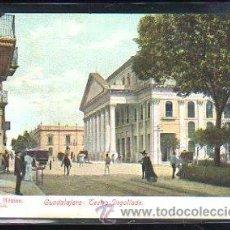 Postales: TARJETA POSTAL DE GUADALAJARA - TEATRO DEGOLLADO. J.K.191, MEXICO. Lote 49065562
