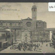 Postales: SIGÜENZA - 1643 - PLAZA DE LA CONSTITUCION - HAUSER Y MENET - CIRCULADA - (ZB-2389). Lote 49452814
